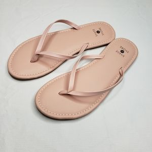 Slip On Skinny Strap Sandals - Shade and Shore